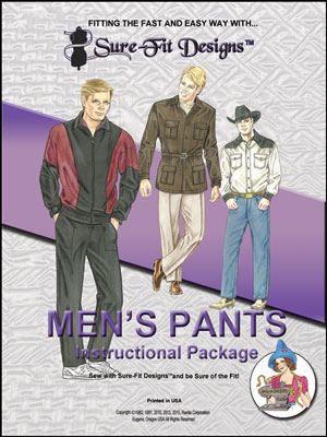 Sure-Fit Designs Men's Pants
