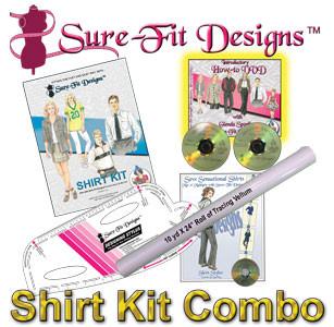 Sure-Fit Designs Shirt Kit Combo