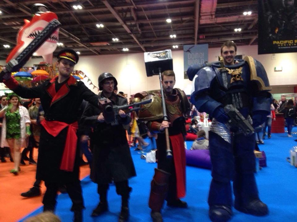 Space Marine Armour Cosplay