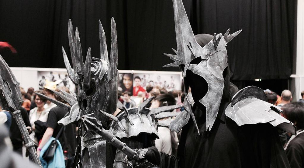 Chris & Myself as The Witch King & Sauron