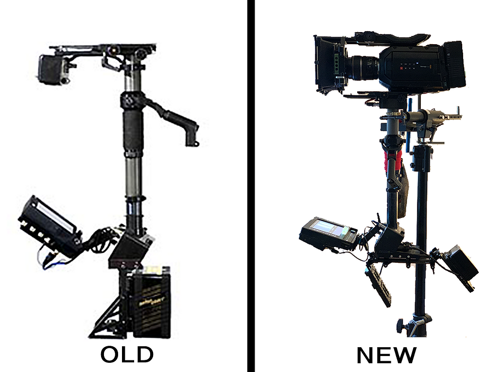 The rig before the upgrade and after