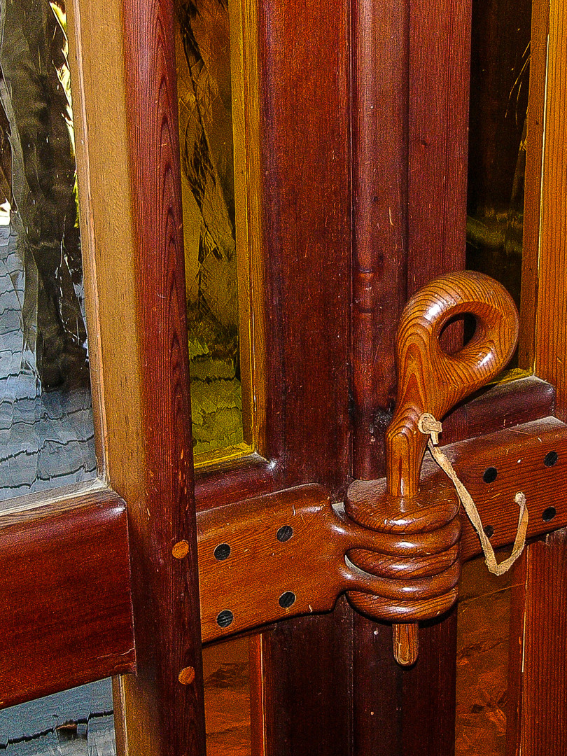 Latch in Sitting Room