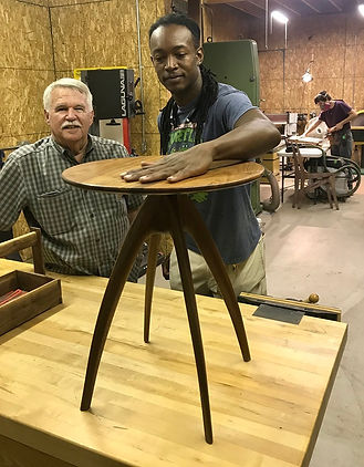 Dennis Hays & Jom Rivers - Table Photo I