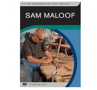 """Sam Maloof, Fine Woodworking Profile"" DVD"