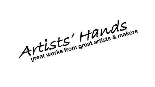 Gallery Text Artists Hands Logo BLK JPG