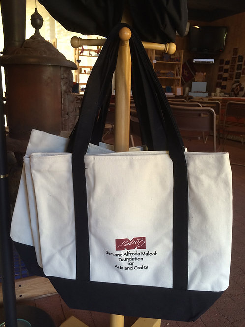 Tote Bag - Large with 2 Zippers