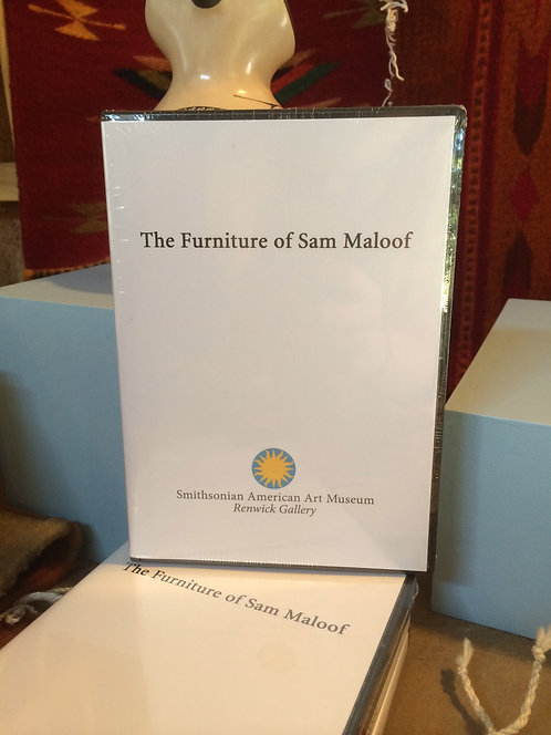 """Furniture of Sam Maloof"" - DVD"