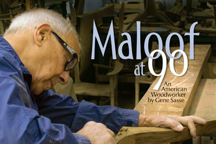 """Maloof at 90"" by Gene Sasse (Softcover)"
