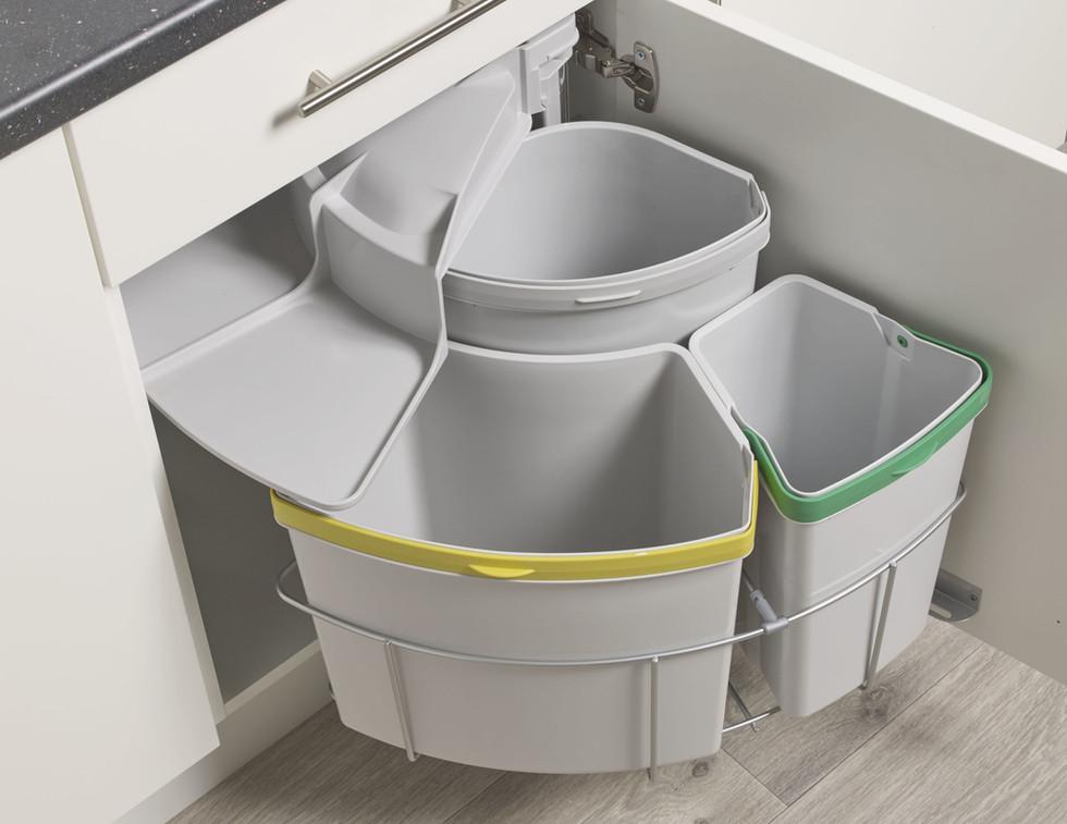 Recycle bin inside