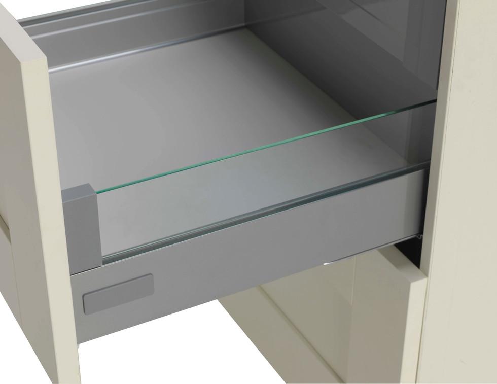 Atira Glass Sided Pan Drawer