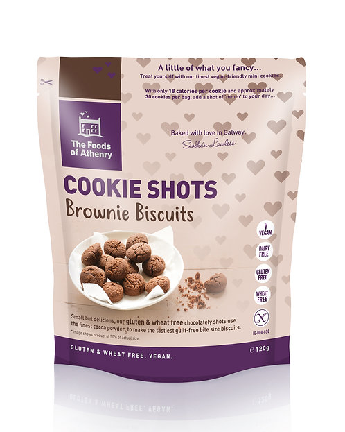 Bite-Sized Brownie Cookie Shot od Foods Of Athenry®, 120g