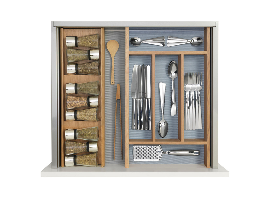 Spice Rack and Cutlery Tray