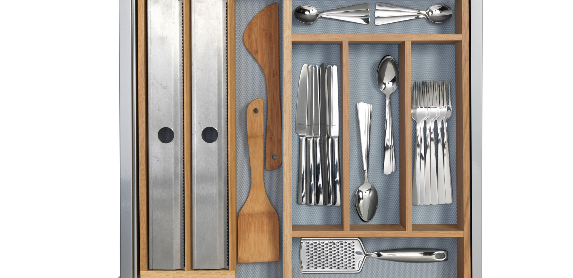 Roll Dispenser and Cutlery Tray