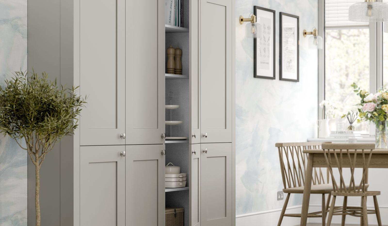 Princeton Indigo & Pearl Grey Detail