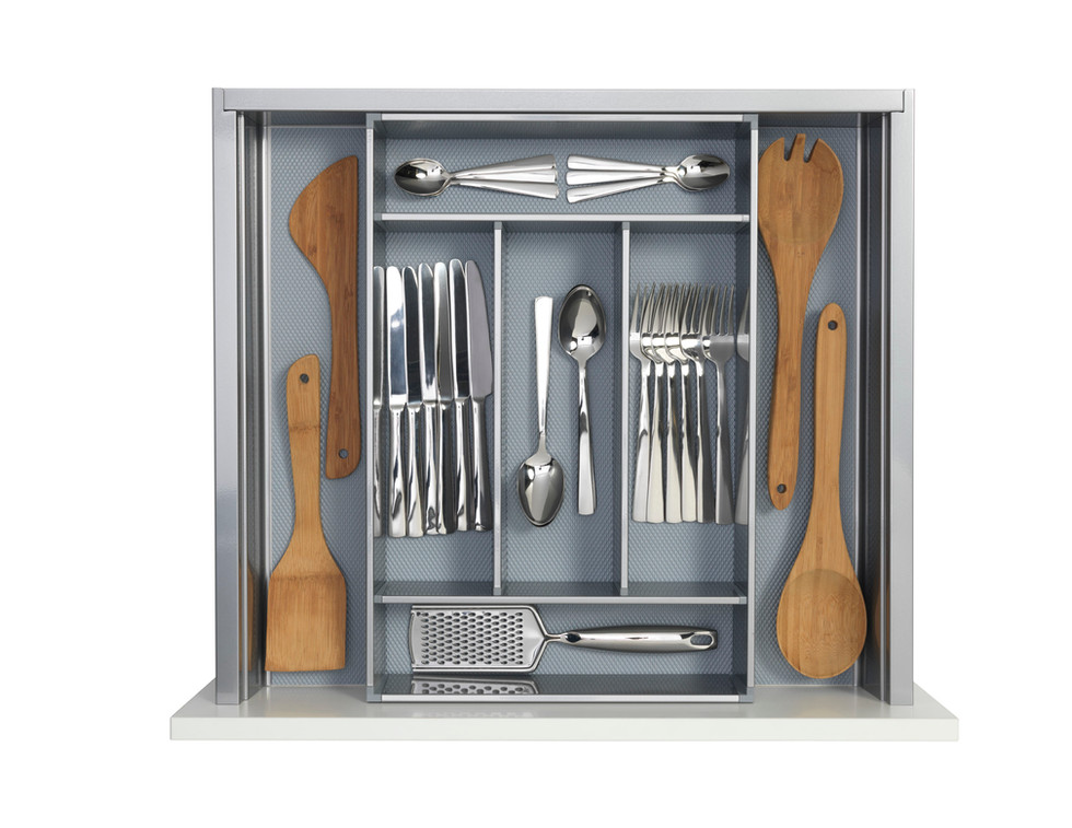 Metal Cutlery Tray