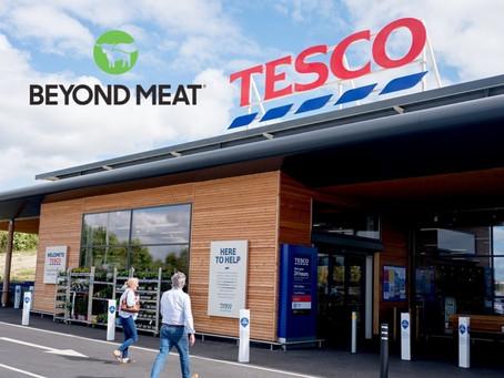 Tesco wprowadza dania gotowe przy współpracy z Beyond Meat®