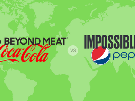 Beyond Meat i Impossible Foods mogą być Coca-Colą i Pepsi dla zamienników mięsa.