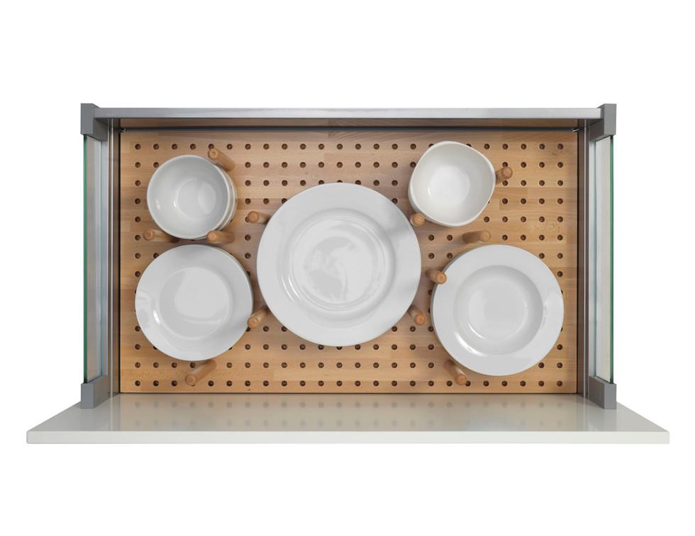 Pan Drawer Timber Peg Board