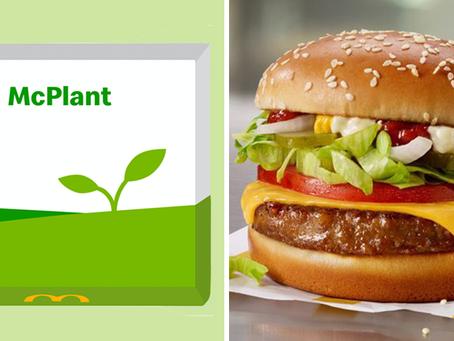 McDonald's po cichu wprowadza burgera McPlant na rynki testowe