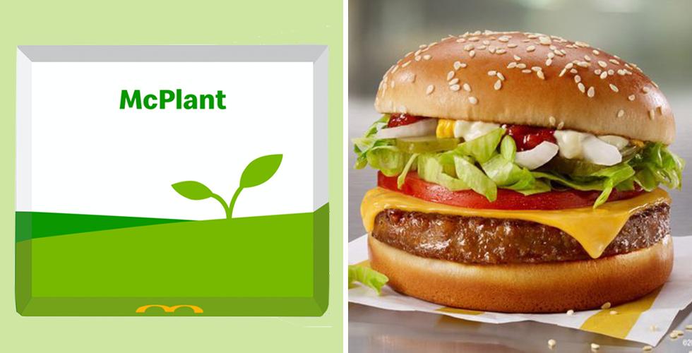 Beyond Meat Burger McPlant