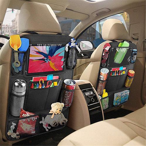 Backseat Storage Multi-Pocket Organiser Tablet Stand Cup Holder Hanging Pockets