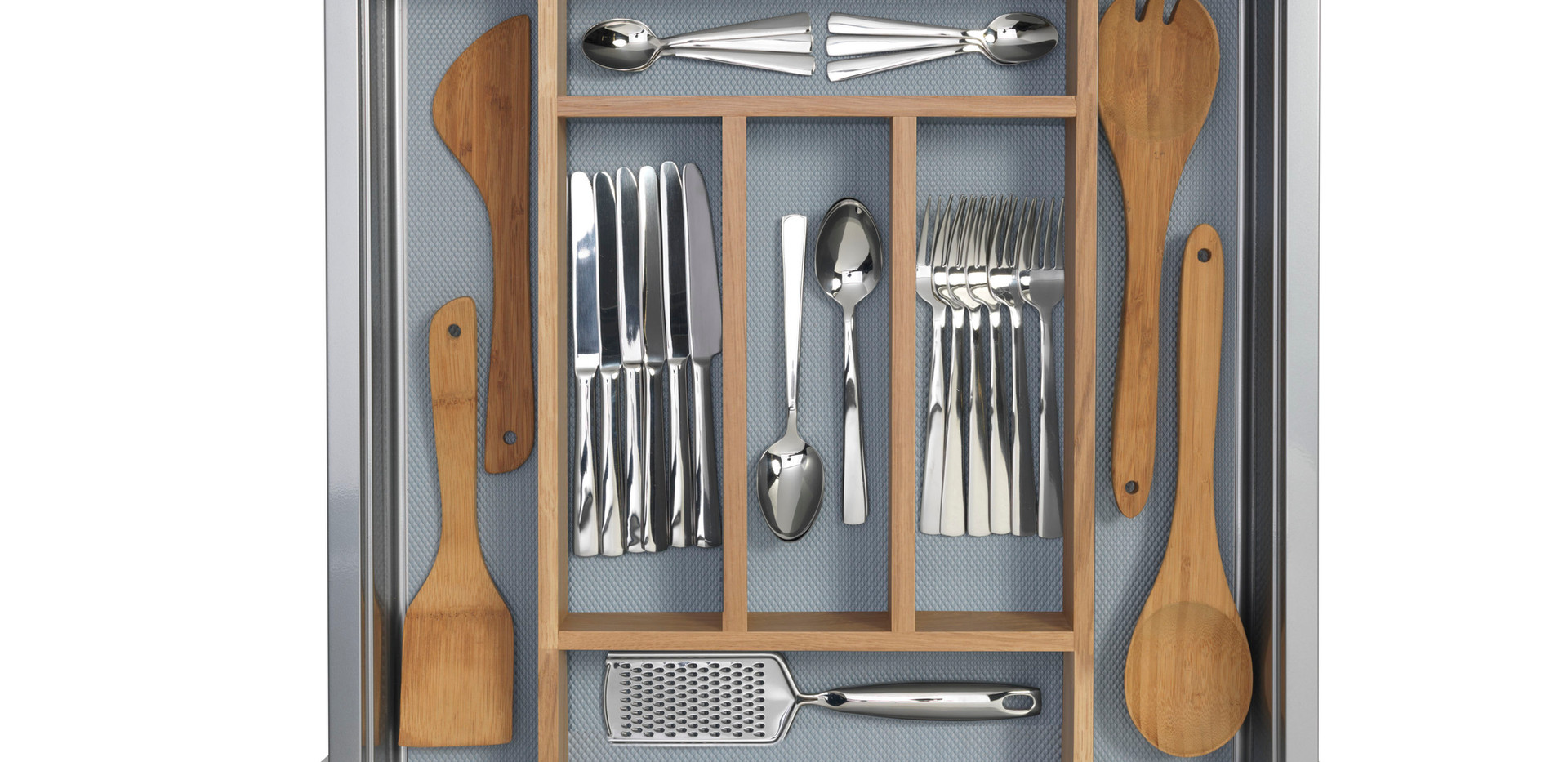 Timber Cutlery Tray