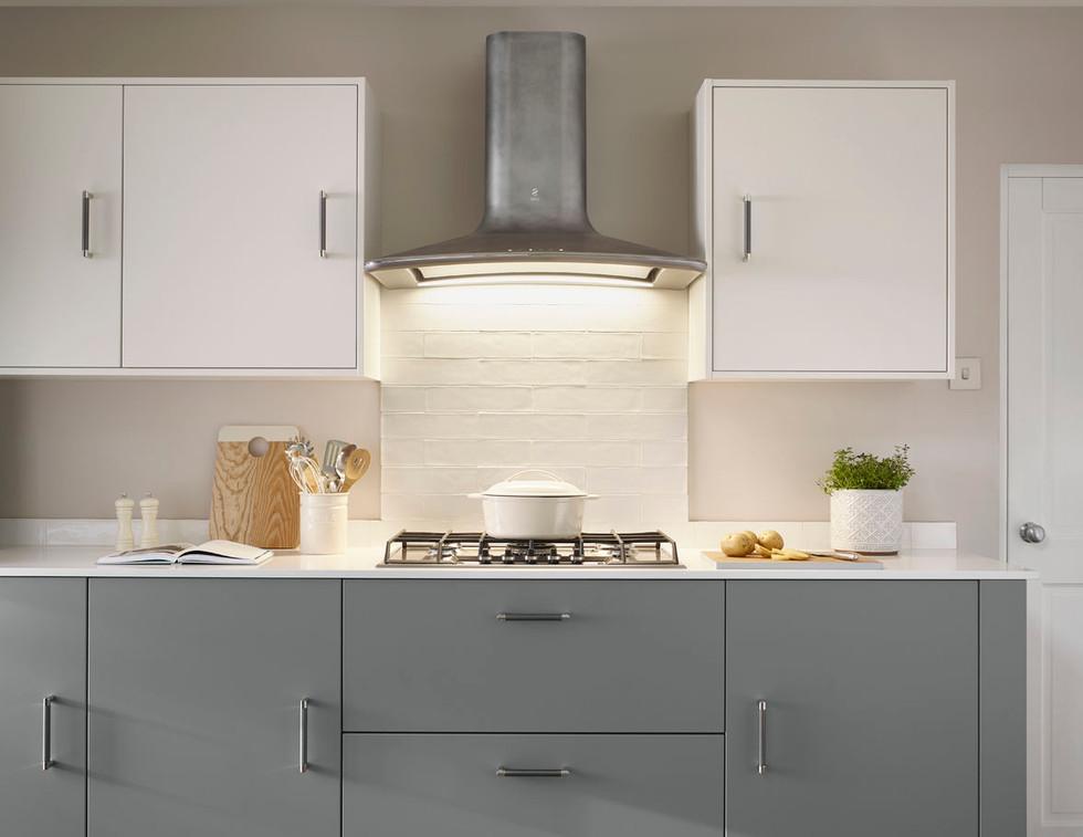 Richmond Cobble Grey & White