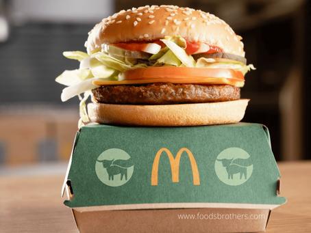 McDonald's wprowadza pierwszego roślinnego burgera w Wielkiej Brytanii i Irlandii