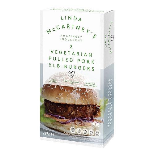 """Bezmięsny Burger z Szarpaną Wieprzowiną""""1/4 Funtowy"""" Linda McCartney's, 113.5 g"""