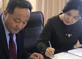 Койка- гийн хэрэгжүүлэгч агентлаг Asian hub- н захирал Choi Jinhee Идэр их сургуульд айлчлан ирж хам