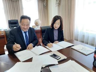 БНСУ-ын Taerem-ийн их сургуулийн гадаад харилцааны захирал Жи Юун Чо манай сургуульд айлчлав.