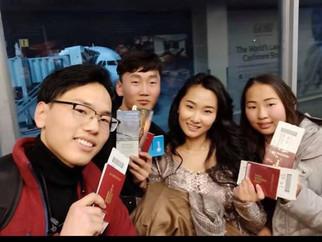 Идэр их сургуулийн оюутнууд япон улсруу үргэлжлэн явсаар байна.