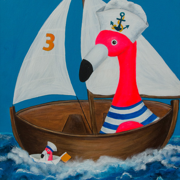 Volker goes sailing