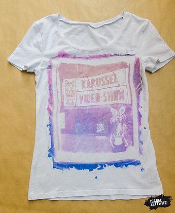 "T-Shirt ""Karussel Video Show"" - Unikat"
