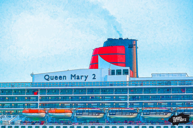 GRAPHIC NOVELS: Queen Mary 2 Detail