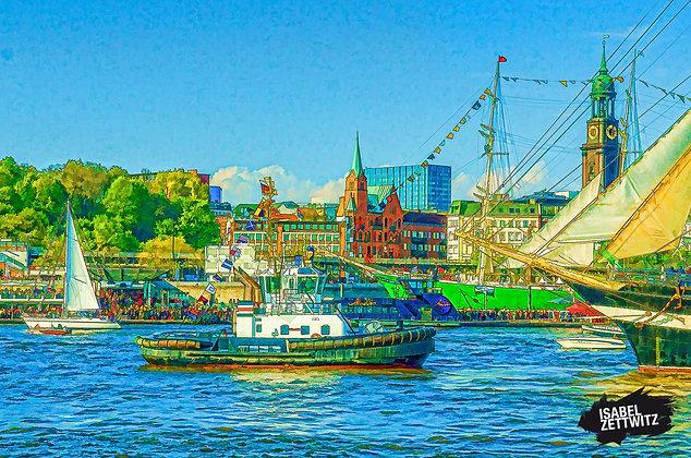 GRAPHIC NOVELS: Schlepper am Hafengeburtstag 2017