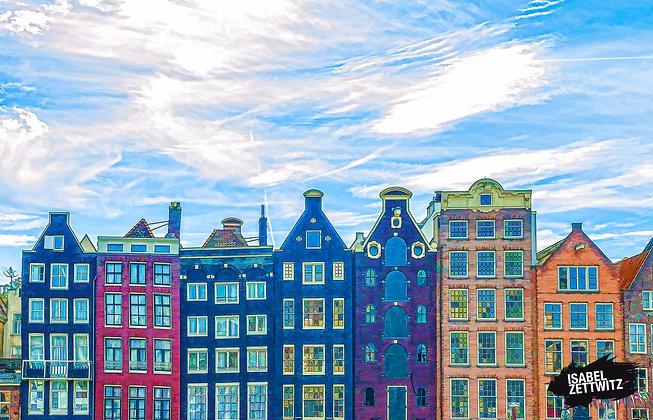 GRAPHIC NOVELS AMSTERDAM: Schmale Häuser