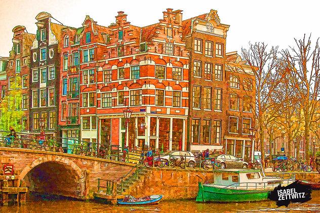 GRAPHIC NOVELS AMSTERDAM: Schiefe Häuser