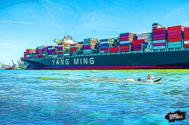 GRAPHIC NOVELS: Containerschiff YANG MING