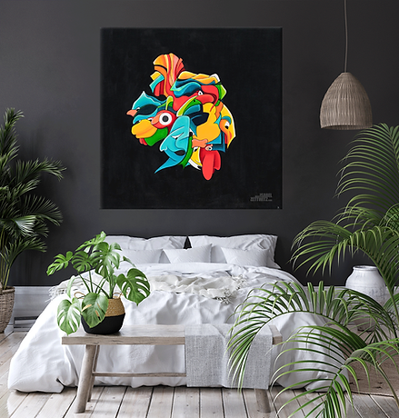 Wandkunst - Bild aus der Serie Apophenia von Isabel Zettwitz