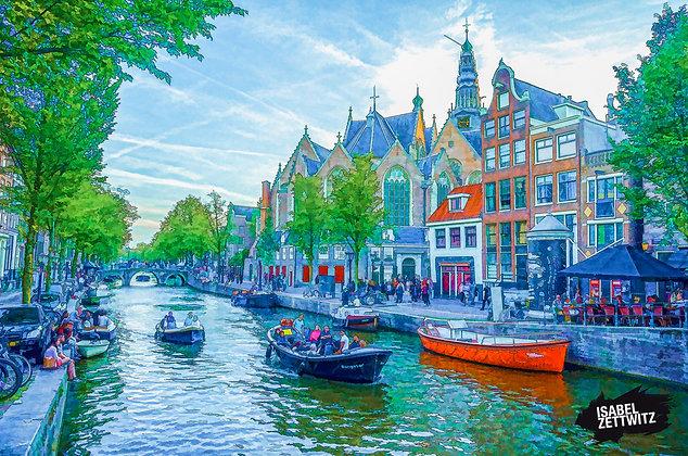 GRAPHIC NOVELS AMSTERDAM: Gracht in Amsterdam