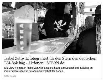 Artikel auf Stern.de von Isabel Zettwitz zum Thema Fussball EM 2016
