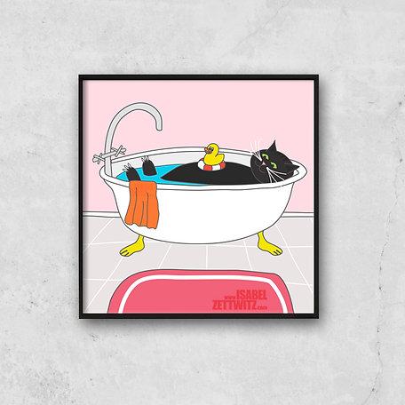 Lazy Tomcat - B