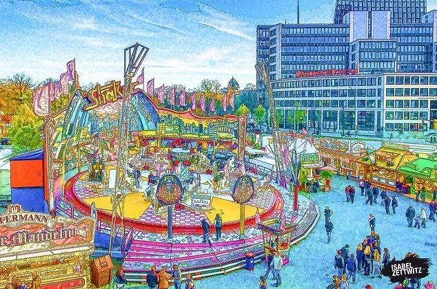 GRAPHIC NOVELS: Der Shaker auf dem Hamburger DOM