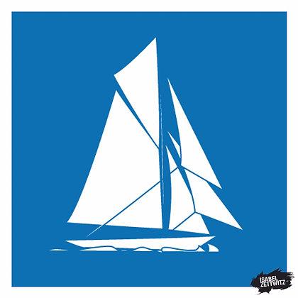 GRAFIKEN Segelboot VI