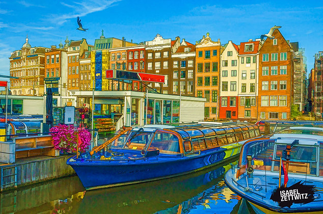 GRAPHIC NOVELS AMSTERDAM: Sightseeing