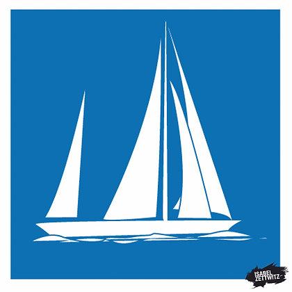 GRAFIKEN Segelboot II