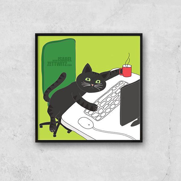 Shopify_Lazy_Tomcat_Oh_no_monday_Rahmen.