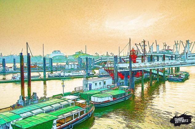 GRAPHIC NOVELS: Landungsbrücken und Feuerschiff