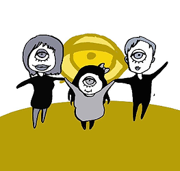 Die sichtwaisen Lucja Romanowska, Isabel Zettwitz und Uli Pforr